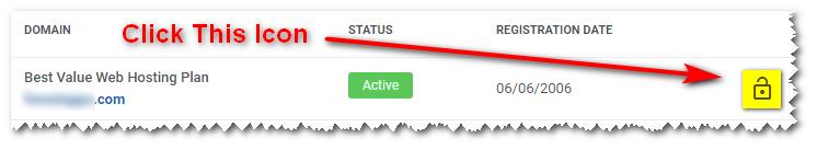 Unblock IP Address Screen One